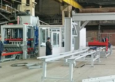 Запуск автоматизированной линии на базе вибропресса в г. Стерлитамак
