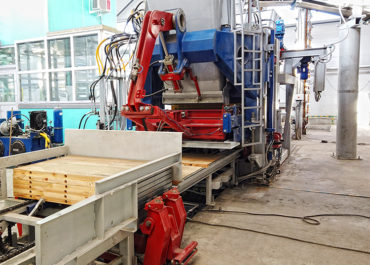 Запуск автоматизированной линии на базе вибропресса в г. Тольятти