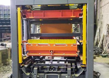 Запуск полуавтоматизированной линии на базе вибропресса STEIF VFL-0.6/2 в г. Ясногорске Тульской области